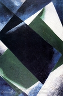 Painterly Architectonic painting reproduction, Liubov Popova