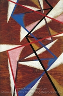 Painterly-Force Construction painting reproduction, Liubov Popova