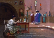 Painting Breathes Life into Sculpture painting reproduction, Jean-Leon Gerome