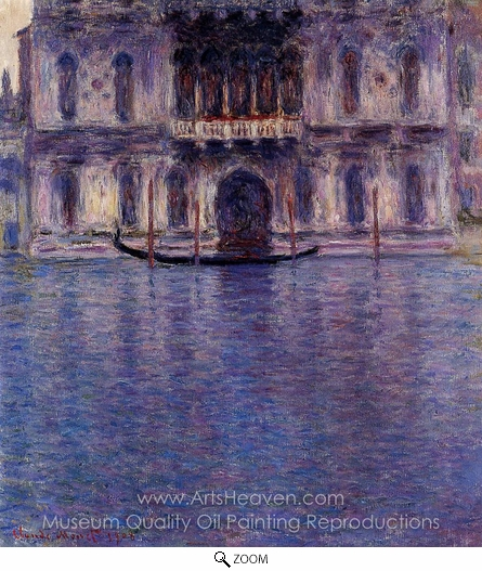 Claude Monet, Palazzo Contarini oil painting reproduction