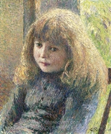 Paul-Emile Pissarro painting reproduction, Camille Pissarro