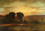 Peace and Plenty painting reproduction, George Inness
