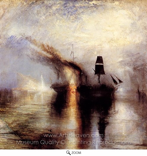 Joseph M. W. Turner, Peace, Burial at Sea oil painting reproduction