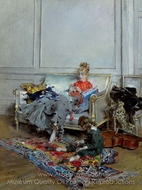 Peaceful Days painting reproduction, Giovanni Boldini