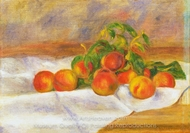 Peaches (Les Peches) painting reproduction, Pierre-Auguste Renoir