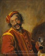 Peeckelhaering painting reproduction, Frans Hals