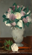 Peonies painting reproduction, �douard Manet