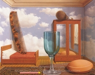 Personal Values painting reproduction, Rene Magritte (inspired by)