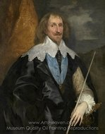 Philip Herbert, 4th Count of Pembroke painting reproduction, Sir Anthony Van Dyck