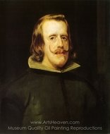 Philip IV painting reproduction, Diego Velazquez