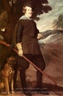 Philip IV as a Hunter painting reproduction, Diego Velazquez