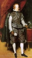 Philip IV in Brown and Silver painting reproduction, Diego Velazquez