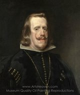 Philip IV of Spain painting reproduction, Diego Velazquez
