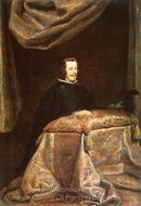 Philip IV Praying painting reproduction, Diego Velazquez