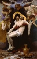Pieta painting reproduction, William A. Bouguereau