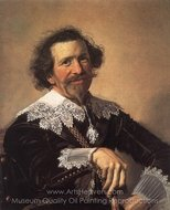 Pieter van den Broecke painting reproduction, Frans Hals