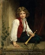 Pifferaro painting reproduction, William A. Bouguereau