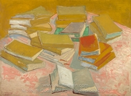 Piles of French Novels painting reproduction, Vincent Van Gogh