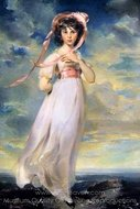 Pinkie painting reproduction, Sir Thomas Lawrence