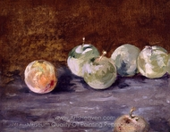 Plums painting reproduction, �douard Manet
