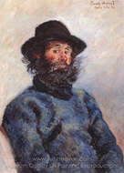 Poly, Fisherman From Bell-Ile-en-Mer painting reproduction, Claude Monet