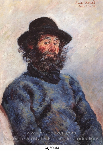 Claude Monet, Poly, Fisherman From Bell-Ile-en-Mer oil painting reproduction