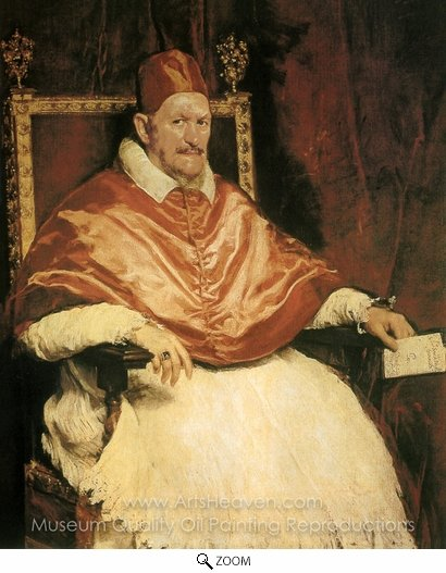 Diego Velazquez, Pope Innocent X oil painting reproduction