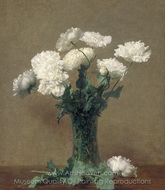 Poppies painting reproduction, Henri Fantin-Latour