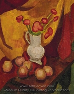 Poppies in a Vase painting reproduction, Roger De La Fresnaye