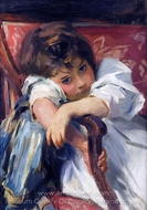 Portrait of a Child painting reproduction, John Singer Sargent