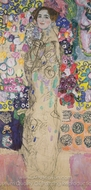 Portrait of a Lady painting reproduction, Gustav Klimt