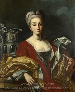 Portrait of a Lady painting reproduction, Italian Painter