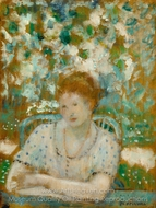 Portrait of a Lady painting reproduction, Frederick Carl Frieseke