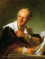 Portrait of a Man painting reproduction, Jean-Honore Fragonard