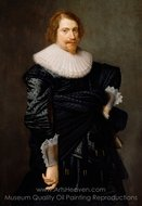 Portrait of a Man painting reproduction, Nicolaes Eliasz. Pickenoy