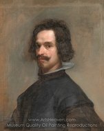 Portrait of a Man painting reproduction, Diego Velazquez