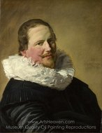 Portrait of a Man in His Thirties painting reproduction, Frans Hals