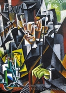 Portrait of a Philosopher painting reproduction, Liubov Popova