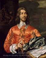 Portrait of a Royalist painting reproduction, William Dobson