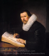 Portrait of a Scholar painting reproduction, Rembrandt Van Rijn