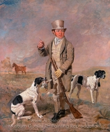 Portrait of a Sportsman, Possibly Richard Prince painting reproduction, Benjamin Marshall