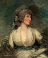 Portrait of a Woman painting reproduction, John Hoppner