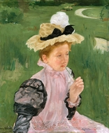 Portrait of a Young Girl painting reproduction, Mary Cassatt