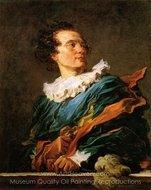 Portrait of a Young Man painting reproduction, Jean-Honore Fragonard