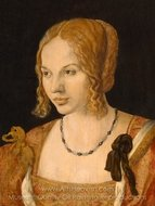 Portrait of a Young Venetian Woman painting reproduction, Albrecht Durer