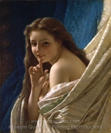 Portrait of a Young Woman painting reproduction, Pierre-Auguste Cot
