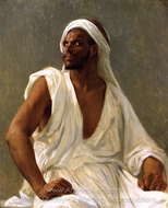 Portrait of an Arab painting reproduction, Alexandre Cabanel