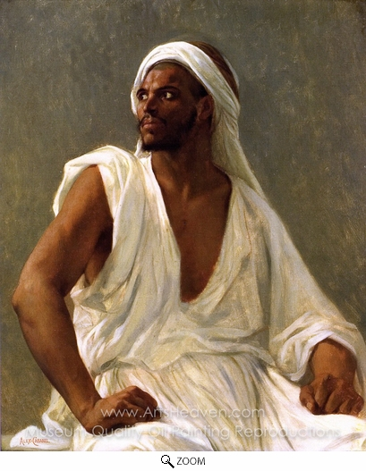Alexandre Cabanel, Portrait of an Arab oil painting reproduction