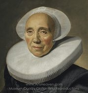 Portrait of an Old Woman painting reproduction, Frans Hals