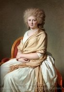 Portrait of Anne-Marie-Louise Thelusson painting reproduction, Jacques-Louis David